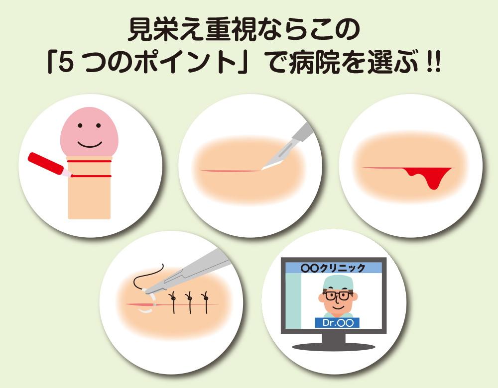傷痕を残さない手術を受けるための病院の選び方